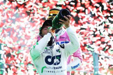 F1ガスリー初優勝!。。。