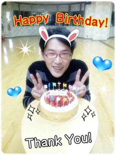 お誕生日ケーキ。。。