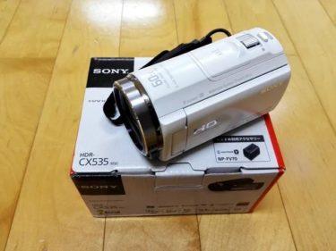 ビデオカメラ購入。。。