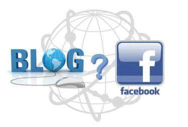 ブログとフェイスブック。。。