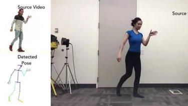 AI技術でダンス動画?。。。