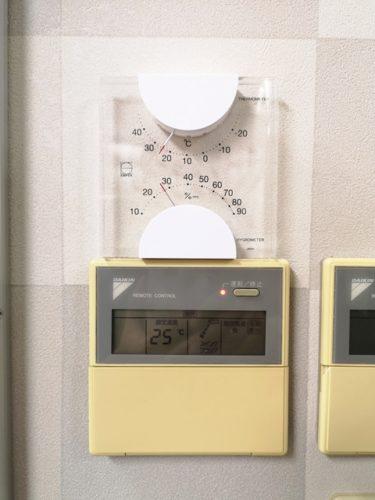 温湿度計。。。
