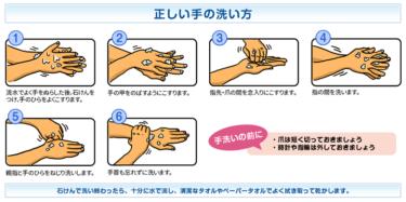 手洗いダンス動画。。。