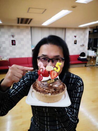 誕生日来ちゃった!。。。